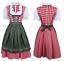 Ladies Women Oktoberfest Bavarian Beer Drindl Tavern Maid Cosplay Costume Dress*