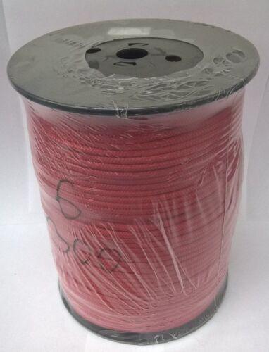 Farbe 6mm Polypropylen-Seil geflochten 300m Rot