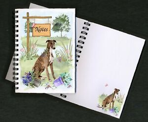 Whippet-Dog-Notebook-Notepad-small-image-on-each-page-Designed-by-Starprint