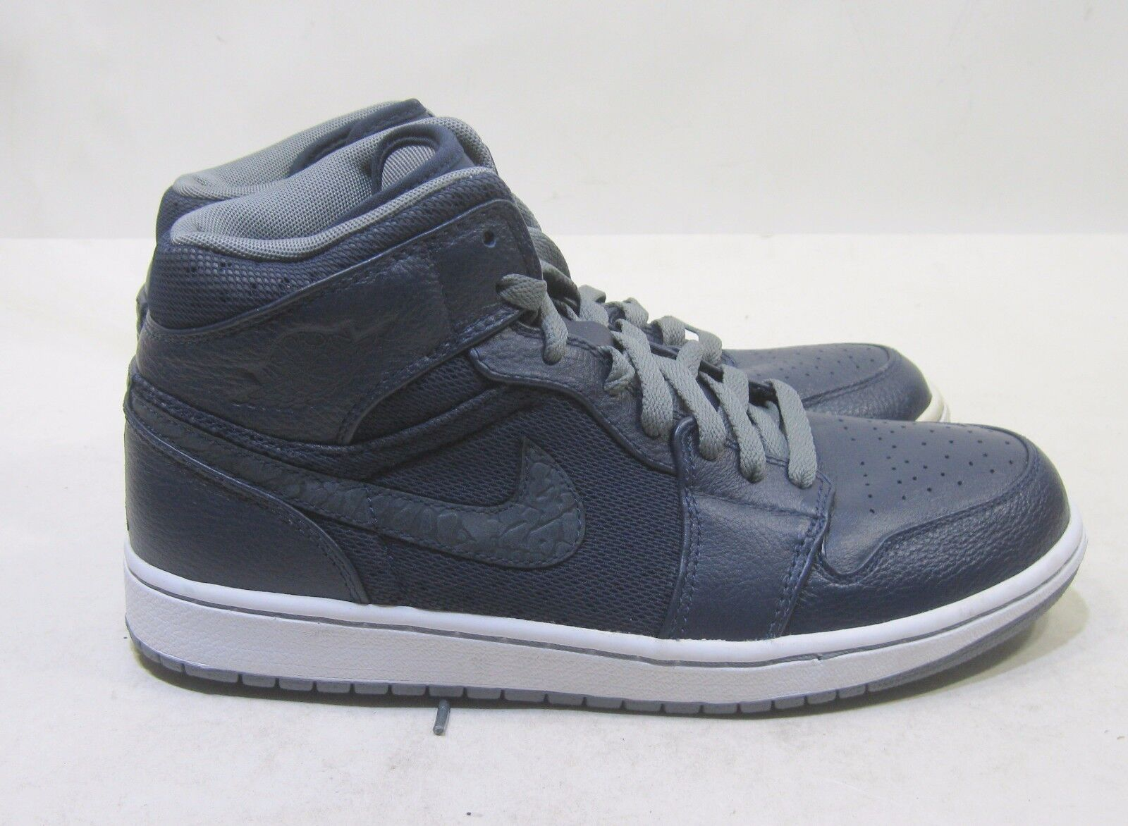 Air Jordan 1 hat Obsidian/Cool Grey-White 364770 402 Comfortable Great discount