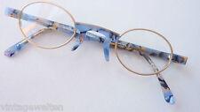 GMC Metall+Kunststoffbrille klein oval Gestell Rahmen Fassung frech individuell
