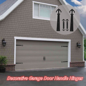 Details About Ccjh Decorative Garage Door Accents Handle Hinge Sliding Doors Hardware