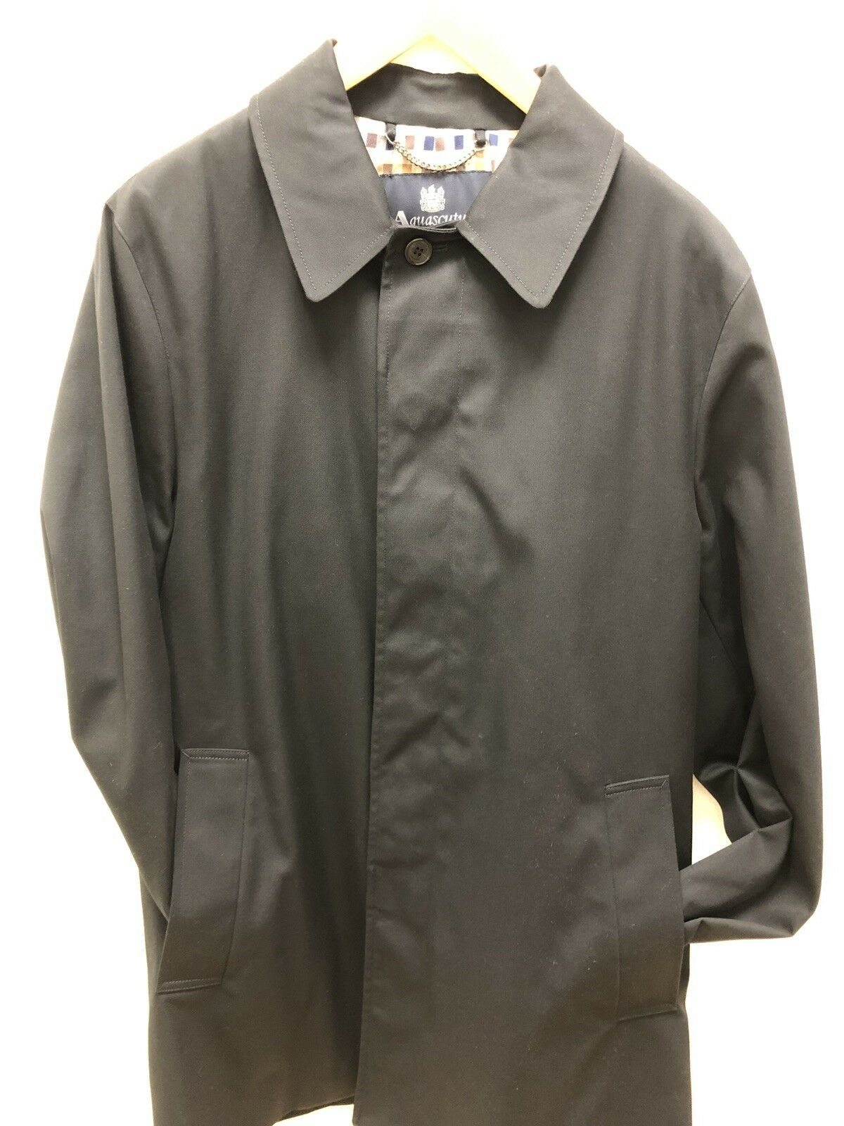 Aquascutum Berkeley SB Raincoat .ny 40