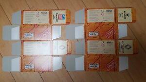 éNergique 4 Boîtes En Caton Pour Voitures Miniatures De Police Marque Norev Et Aide à La Digestion