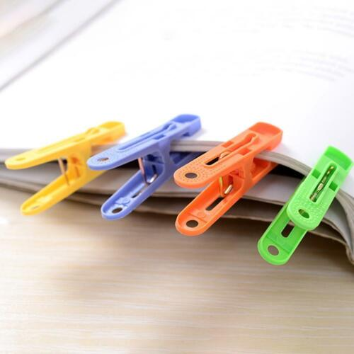 Best Plastic Clothing Pegs Clips Clothes Pins 20 Pcs Assorted Colors Clothespins