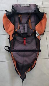 BOB-Revolution-Single-Jogger-Stroller-FABRIC-SEAT-CLOTH-Gray-amp-Orange-2011-15