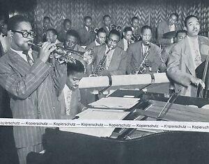 Dizzy Gillespies Orchester  - Jazzmusiker - um 1950 (?)      O 16-16