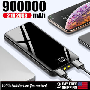 900000mAh-Power-Bank-UltraThin-Dual-USB-Portable-External-Battery-Backup-Charger
