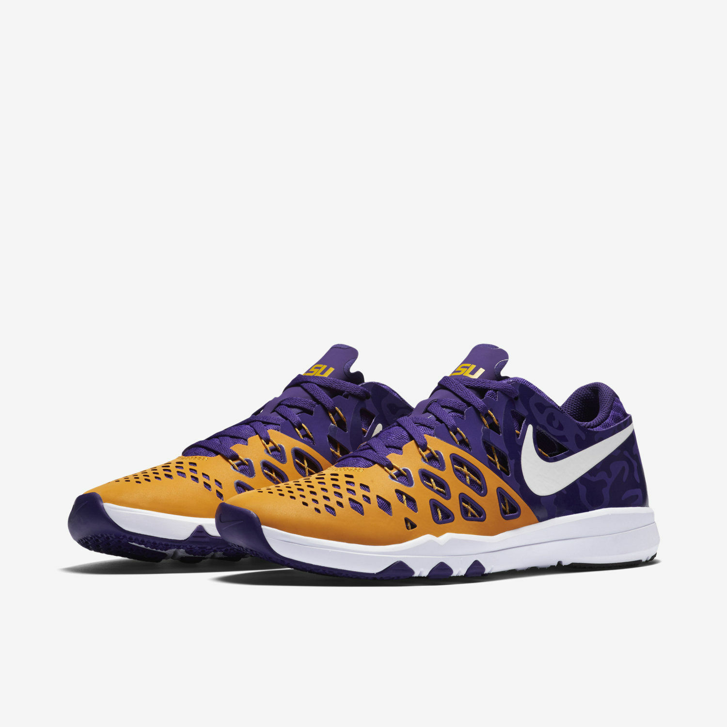 LSU TIGERS Men's Nike Train Speed 4 AMP  SIZE 12