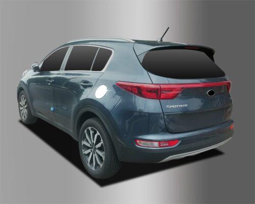 Fuel Gas Tank Door CapCover Chrome Silver B364 Track# for Kia Sportage 2017~2020
