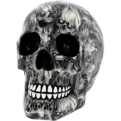 Soul Medium Skull Grey Black Gothic figure ornament art figurine DECOR Gifts