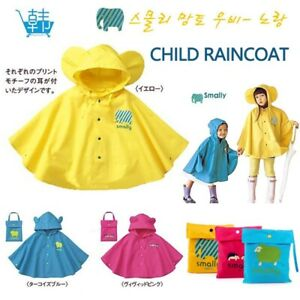 Raincoat for Children Cartoon Kids Girls Rainproof Rain Coat Waterproof Poncho