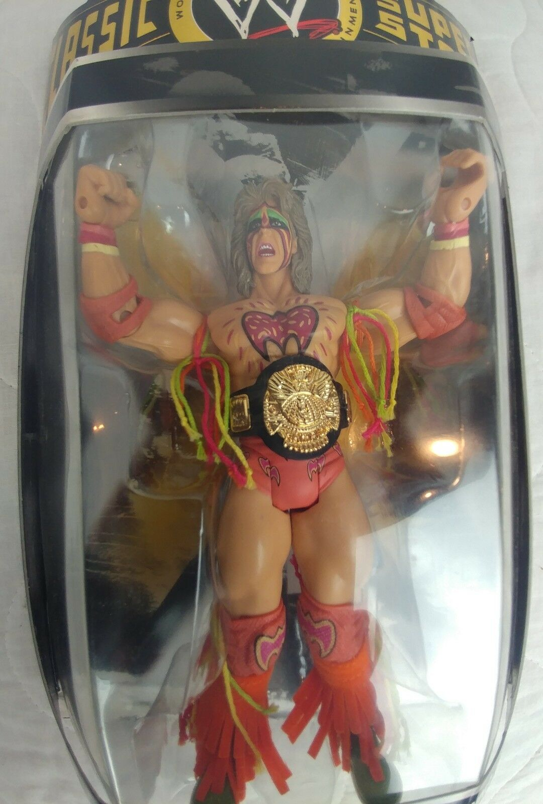 ULTIMATE WARRIOR WWE 2004 CLASSIC SUPER STARS ACTION FIGURE