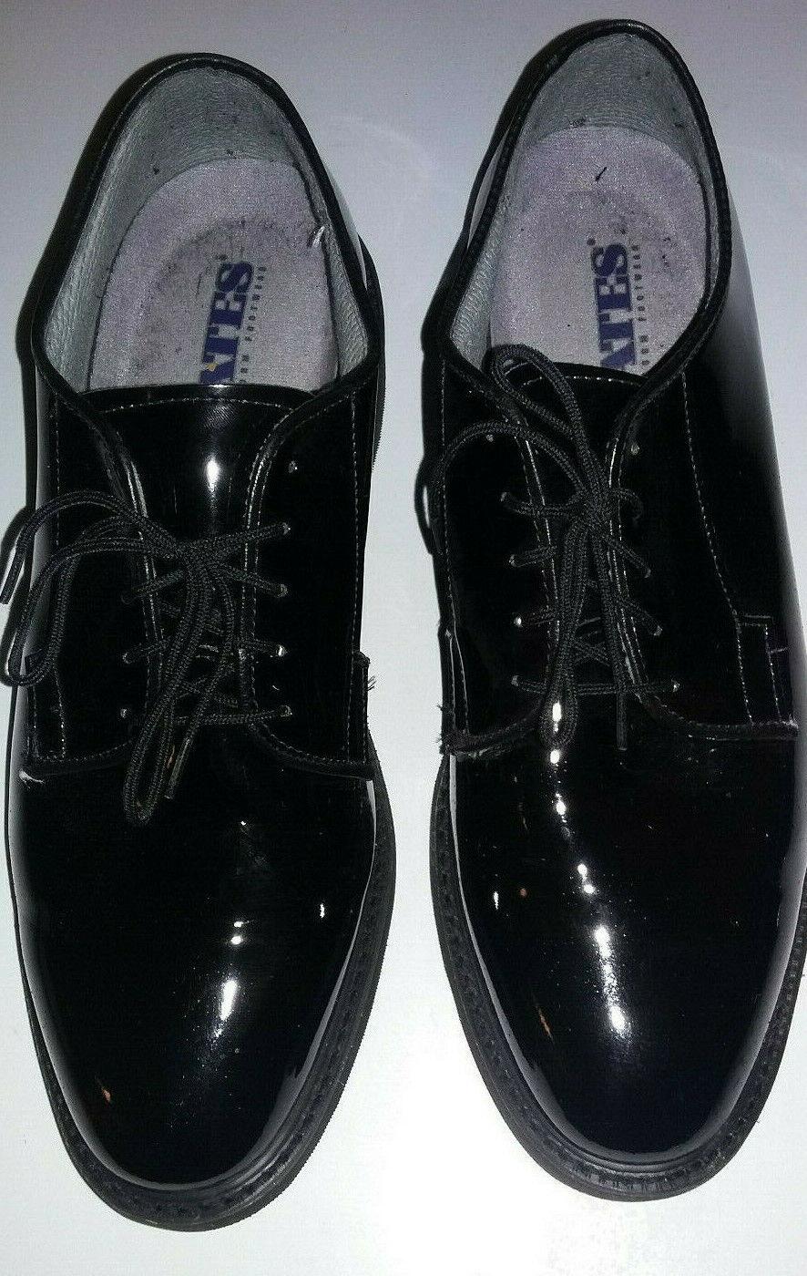 a buon mercato Bates Uomo Uomo Uomo Dimensione 9E Wide nero Patent Leather Dress Tuxedo Formal Military scarpe  ordina ora con grande sconto e consegna gratuita
