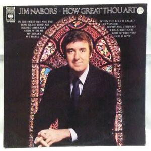 JIM-NABORS-vintage-vinly-LP-How-Great-Thou-Art