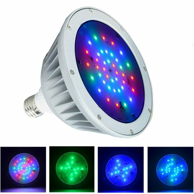 WYZM 120V Color Changing 20w Pool Lights LED,100w Haolegen Bulb ...