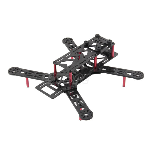 Emax 250mm Carbon Fibre Fiber Mini H Quadcopter Frame Not FPV250 H250 EQA250RD