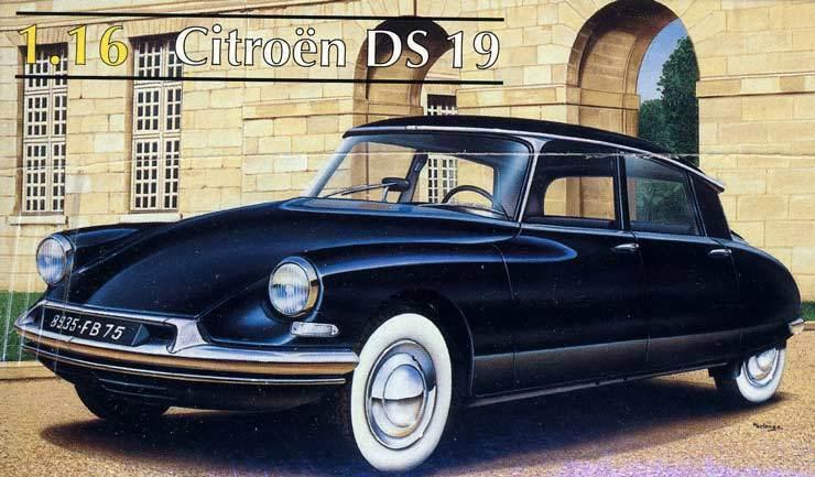 Heller - Citroen DS 19 Ds19 Modelo Equipo de Construcción - 1 16 Nuevo Emb.