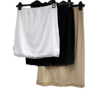 Fa M ou S Shop Lace Trim Taille / Halb Slip, 4 Längen, 3 Farben, Haftwiderstand