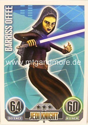 Star wars force attax Barriss Offee #010