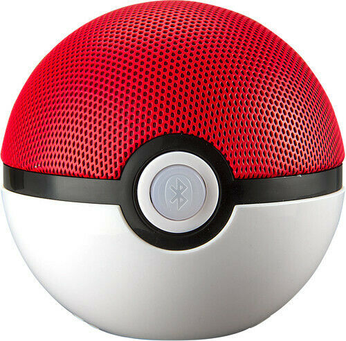 Pokemon PiB67PLFMv6 Pokeball blueetooth Speaker Red White -