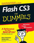 Flash CS3 For Dummies by Ellen Finkelstein, Gurdy Leete (Paperback, 2007)