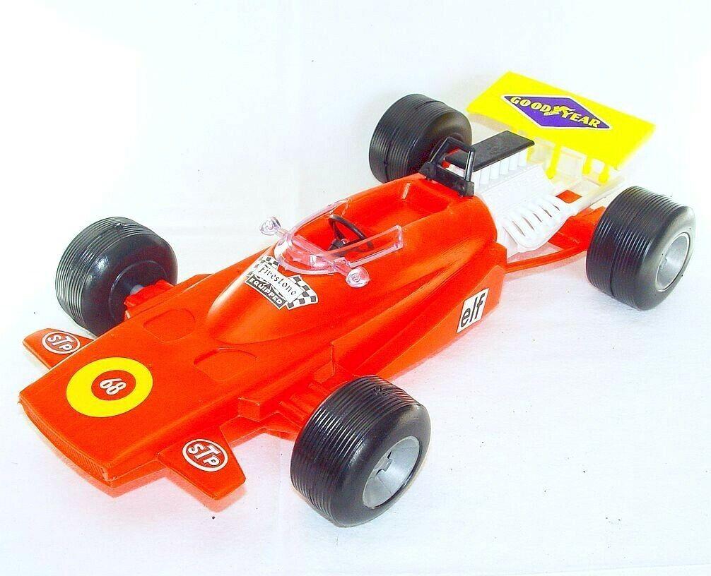 Sogimez  1 14 MATRA MS-120 F1 RACING CAR Red Plastic 37cm Big MIB`71 RARE