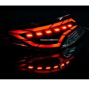 Image Is Loading LED Tail Lights Rear Lamp Module DIY Kit