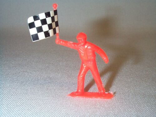 Model Motoring / Scale Slot Car Vintage Flagman / Birthday Cake Topper NOS!