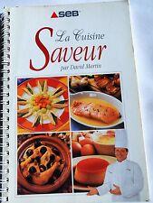 LIVRE SEB COCOTTE MINUTE AUTO CUISEUR CUISINE SAVEUR DAVID MARTIN 1ERE EDITION