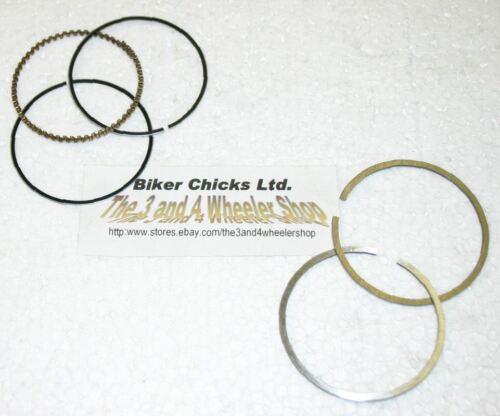 KAWASAKI 85-04  KLF300 Bayou Piston Rings .010  76.25mm KLF 300 MADE IN JAPAN!