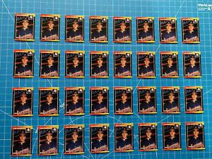 (32) John Smoltz 1989 Donruss #642 Rookie Cards Atlanta Braves NrMT+ Lot