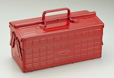 Toyo Steel Two Stage Tool Box St 350 R Red