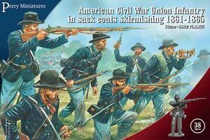 Américaine Sécession Guerre Union Infanterie En Sac Manteaux 1861-65 -perry