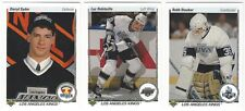 8 1990-91 UPPER DECK HOCKEY LOS ANGELES KINGS CARDS (SYDOR RC/ROBITAILLE+++)