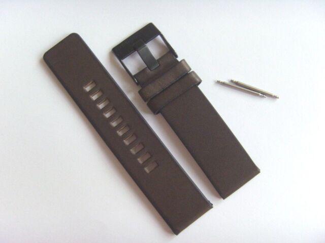 Diesel Original Spare Band Leather Wrist DZ4364 Watch Brown Strap 24 Mm