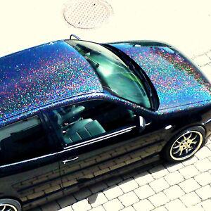 Prix Bas Avec 100 G Xxl Metal Flakes Black Holo Voiture Paillettes Paillettes Car Effektlack 1,0 Mm-afficher Le Titre D'origine Blanc De Jade