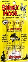 Northland 3 Long, Red deadly Sting'r Hook Rig, 3 Per Pack Sht3-r ( 1 Pack )
