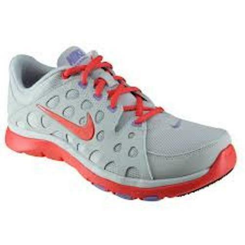 Womens NIKE FLEX SUPREME TR Platinum Running Trainers 537509 005