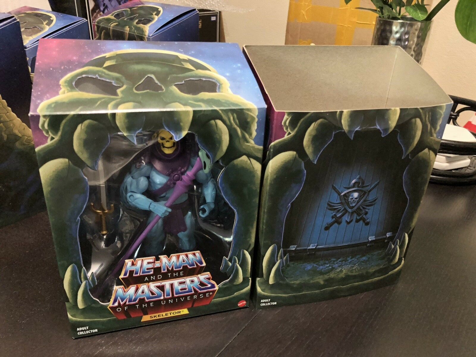 SKELETOR 2.0 Filmation He-Man Masters of Universe Classics Club grauskull MOTUC
