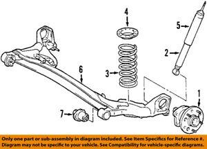 Rear Pair Struts for 2004-2014 Toyota Sienna