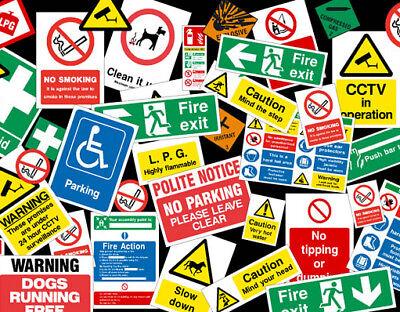 7000 Health Safety Hazard Warning Printable Posters Signs Kit