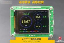 "2.4"" LCD Carbon dioxide detector CO2 tester Temperature humidity display S8-0053"
