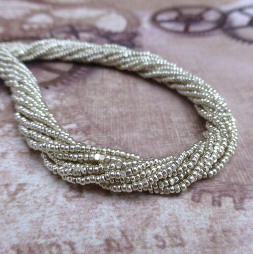 Preciosa Czech Glass Seed Beads 13//0 Charlotte 6 Strands
