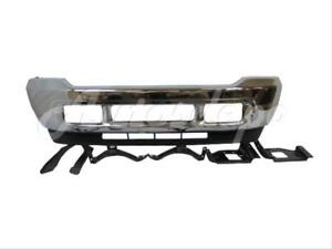 Details about For 2001-2002 FORD SUPER DUTY F250 F350 FRONT BUMPER CHR  VALANCE BRACKET PLATE 8