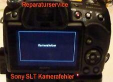 "Sony SLT A 77, 99  Reparaturservice ""Kamerafehler"", defekter Verschlußmotor"