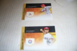 2-different-2012-Topps-Update-Golden-Moments-insert-cards-Yu-Darvish