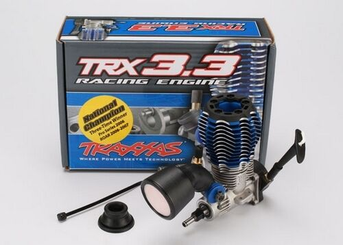 5407 Traxxas TRX 3.3 RC Truck Racing Engine IPS Eje Retroceso Pull Starter Nuevo Reino Unido
