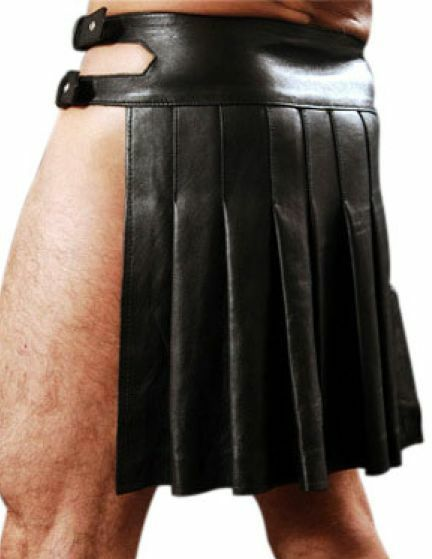 Mans GENUINE LEATHER KILT KILT KILT ROMAN GLADIATOR LARP MOST GrößeS | Online Shop Europe