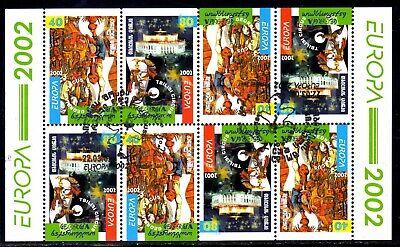 Georgien 397/98 O Mh-bogen - Europa 2002 (2331)